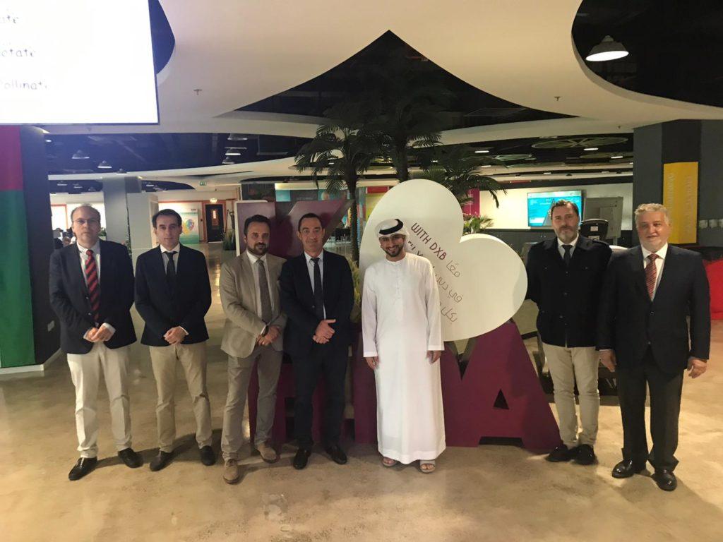 Visita oficial de Acade a Dubai