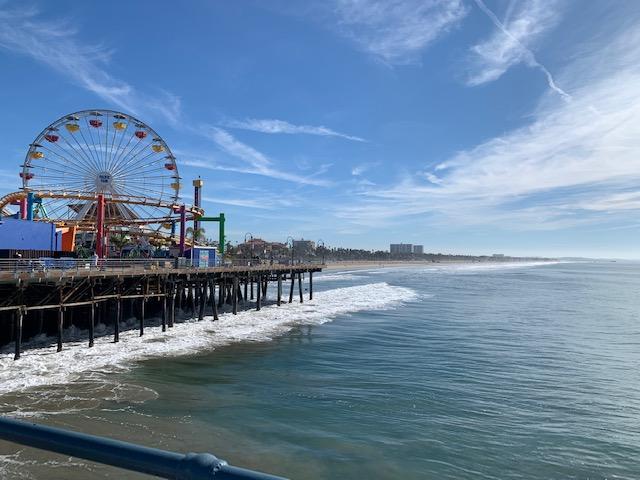 Pacific Wheel Santa Mónica´s Pier